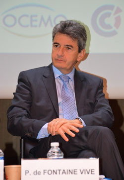 Philippe de Fontaine Vive, Vice President of the European Investment Bank. (Photo N.B.C)