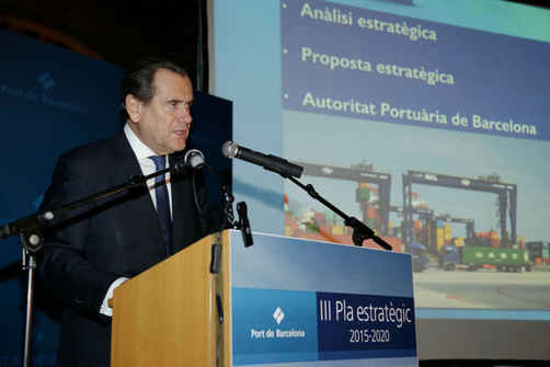 President of the Barcelona Port Authority (BPA) Sixte Cambra (photo Port of Barcelona)