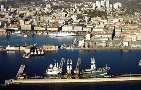 Porto Baroš (photo Port of Rijeka)