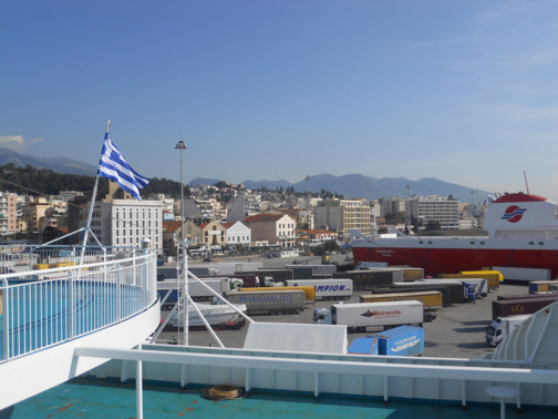 Piraeus port (photo CC- EDrost88 via Flickr)