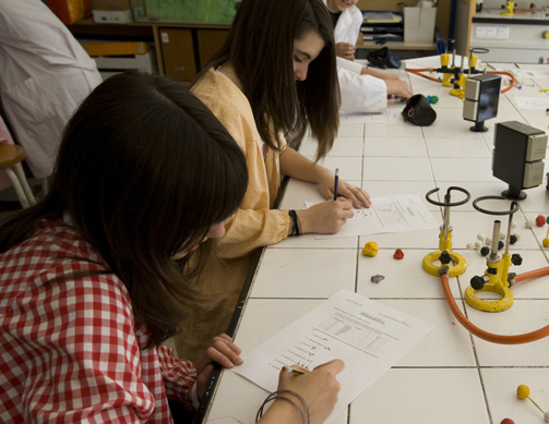 Ginebró school, a cooperative education founded 40 years ago in Catalonia. A company model of solidary and social economy supported by l'iesMed (photo iesMed)