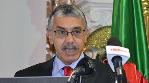 Ahmed Messili, secretary generalof the Ministry of Energy (Algeria). Photo FD