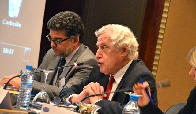 Pierre Vimont was one of the speakers of the Femise annual conference on the 29th and 30th of April 2017 in Casablanca. ©NBC