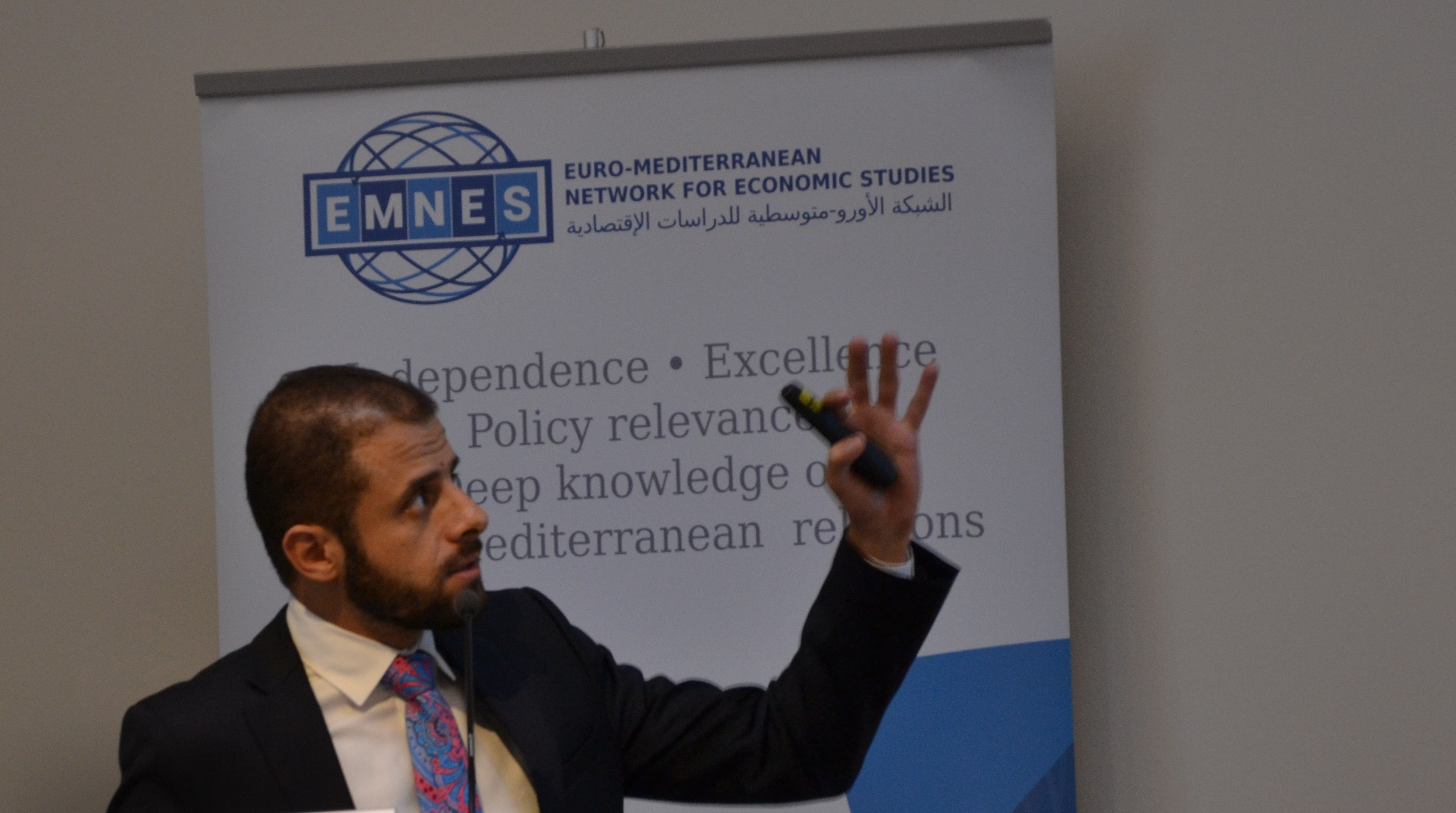 "Accoding to Chahir Zaki, ""Southern Mediterranean companies have a growth problem."" (photo : F.Dubessy)"