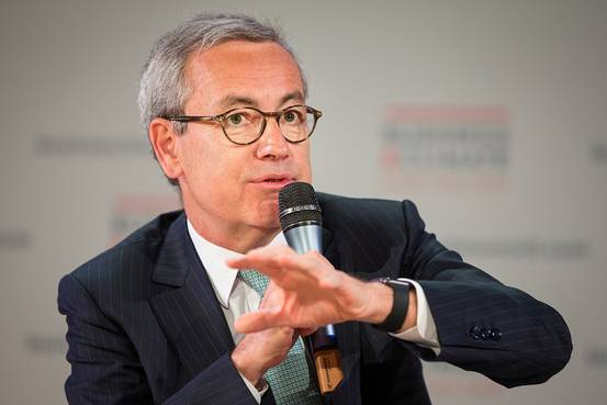 Jean-Pierre Clamadieu does not want to sell his Suez shares at €15.50 as proposed by Veolia (photo: DR)