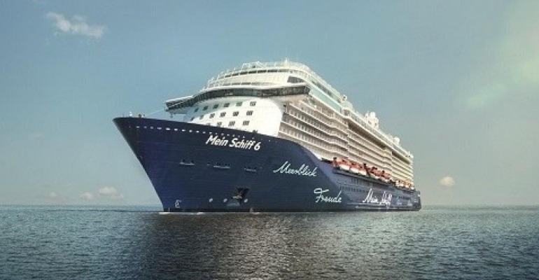 Covid alert on the Mein Schiff 6 during a cruise in Greece (photo: TUI Cruises)