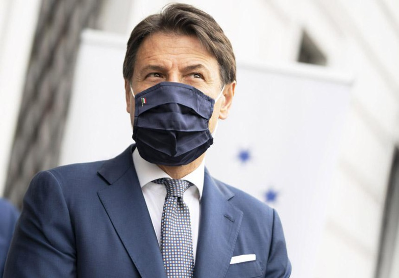 Italian Prime Minister Giuseppe Conte wants to slow down the spread of the coronavirus (photo: Italian Council Presidency)