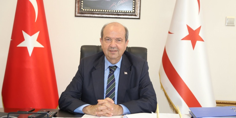 Ersin Tatar takes over the presidency of the RTNC (photo: UBP)