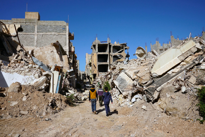 Libya must now rebuild itself (photo: OCHA/Giles Clarke).