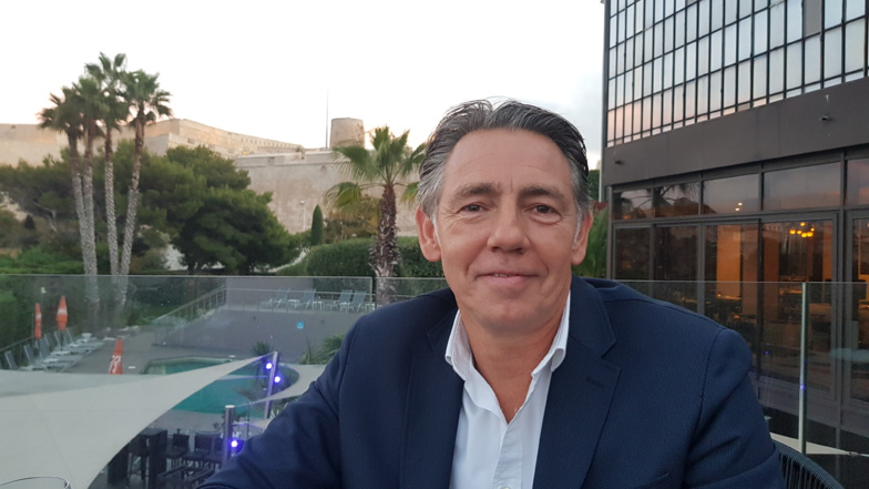 Maxime Tissot, director of the Marseillle Tourist and Convention Bureau says he is ready for a revival of tourism (photo: F.Dubessy)