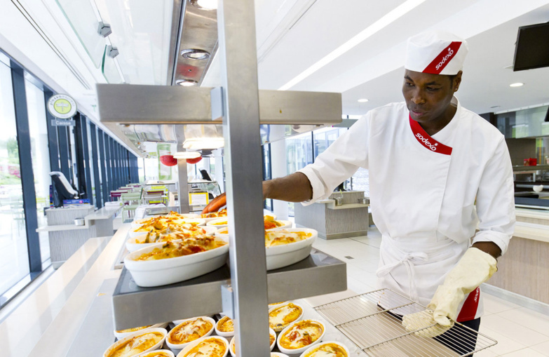 The world's second largest Foodservices provider launches a job protection plan (photo: Sodexo).