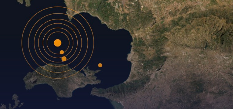 The earthquake affected western Turkey and the Greek islands of the Dodecanese (map: AFAD)