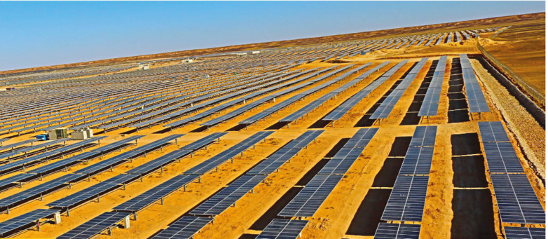 Voltalia is now a majority shareholder in the three solar power plants in Ma'an (photo: Voltalia)