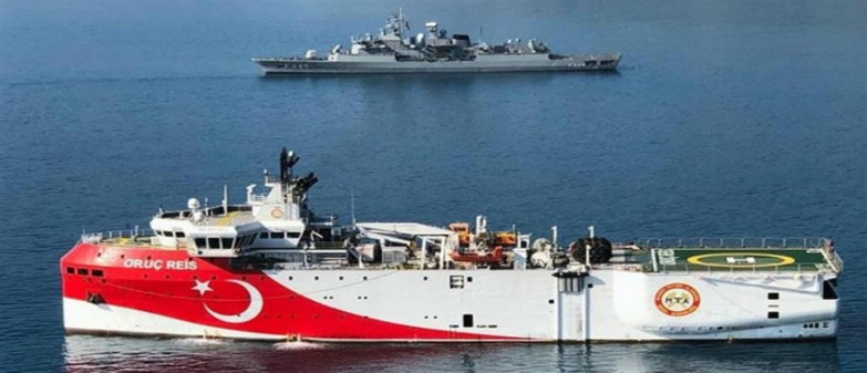 The presence of the Oruç Reis in waters claimed by Greece and Cyprus set fire to the powder keg (photo: DR)