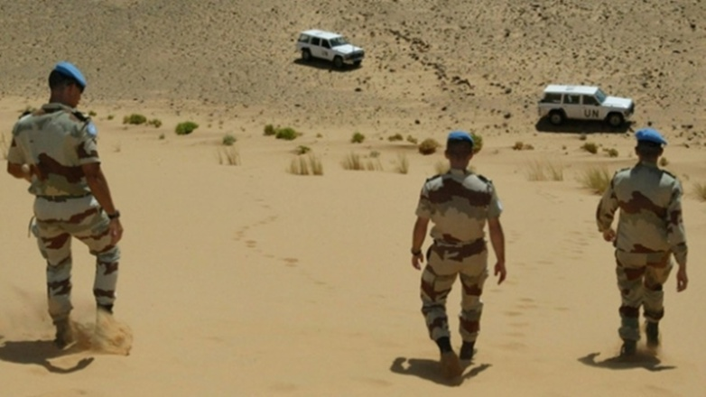 The peacekeepers have just had their mission renewed for another year (photo: Minurso).