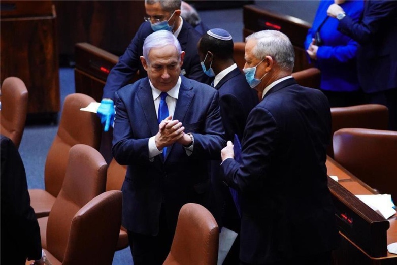 The coalition between Benyamin Netanyahu and Benny Gantz will not have resisted the vote on the budget in the Israeli parliament, which had however endorsed in May 2020 the new unity government (photo: Knesset)