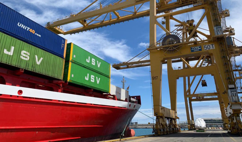 JSV saves time between Barcelona and two Turkish ports (photo: Port of Barcelona)
