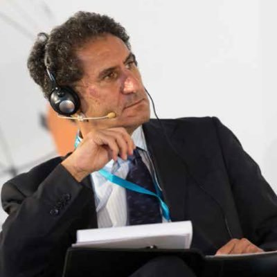 Francesco La Camera takes the lead of the international organisation in charge of sustainable development (photo: Twitter)