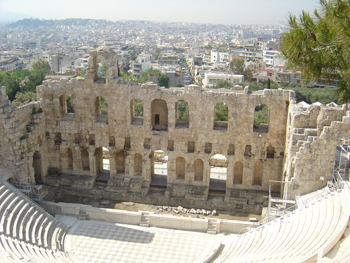 Greece was one of the countries most affected by the lack of tourists (photo: F.Dubessy)