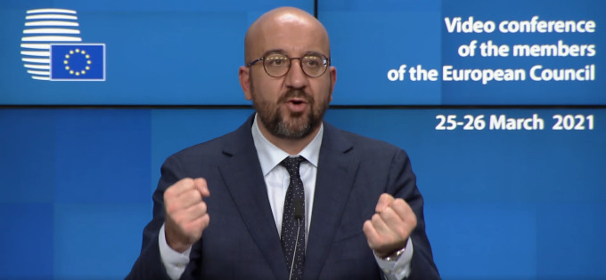 Charles Michel, President of the European Council, puts Turkey under surveillance until June 2021 (photo: Council of Europe)