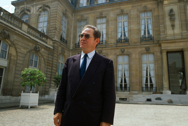 Christian Graeff at the end of May 1988 at the Elysée Palace (photo: Christian Graeff's personal archives)