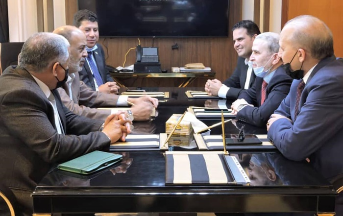 The meeting between the Ministry of Oil and the NOC has allowed progress on the issue of oil exports in Libya (photo: NOC)