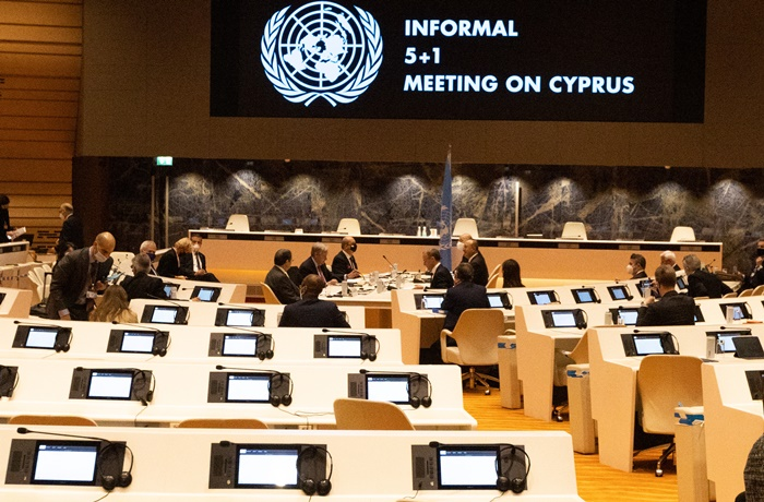 The informal meeting, held in the 5+1 format, is expected to iron out the divisions over Cyprus (photo: Government of the Republic of Cyprus)