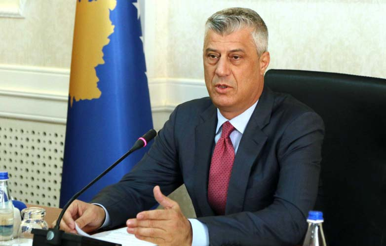 Hashim Thaçi will face charges of crimes against humanity (Photo: Presidency of Kosovo)