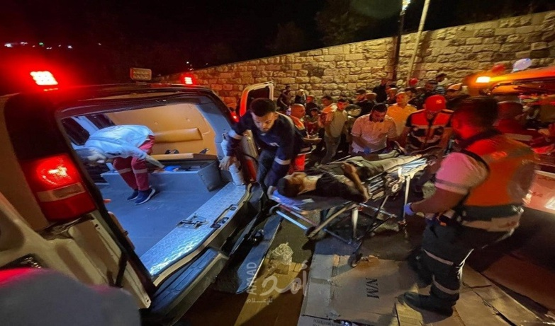 Hundreds of injuries have been reported in the occupied territories (photo: Palestinian Red Crescent)