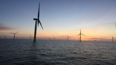 The Danes involved in the Strait of Sicily project have developed several offshore wind farms - here the one of Veja Mate in the North Sea - (photo: Copenhagen Infrastructure Partners)