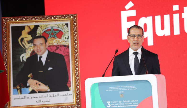 King Mohammed VI will have to replace his head of government Saaddedine El Othmani (photo: Moroccan government)