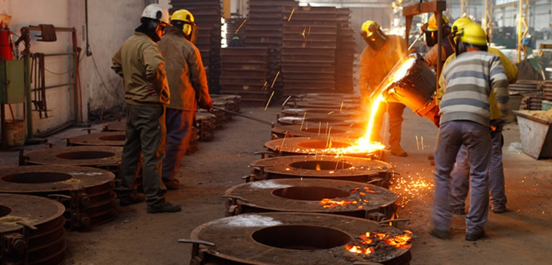 The unemployment rate of workers in the metal industry in the Basque Country has risen sharply (photo: San Diego Fundicion)