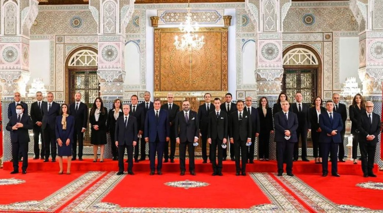 The new Moroccan government comprises twenty-four members including seven women (photo: Royal Palace Morocco)