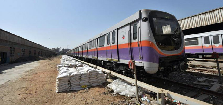 Fifty young people will benefit from training in the maintenance of rolling stock on line II of the Cairo metro (Photo: EBRD)