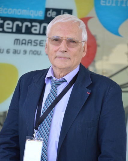 """Claude Berthomieu, Professor of Economic Sciences at the University of Nice Sophia Antipolis and President of the association CEMAFI International is the coordinator of the Femise report """"From two decades of liberalisation led astray towards democratically organised development.""""(Photo NBC)"""