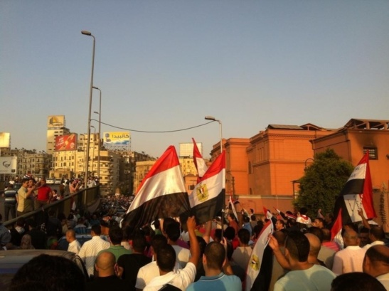Anti Morsi Protest in July 2013. (Photo Mohammed Kotb)