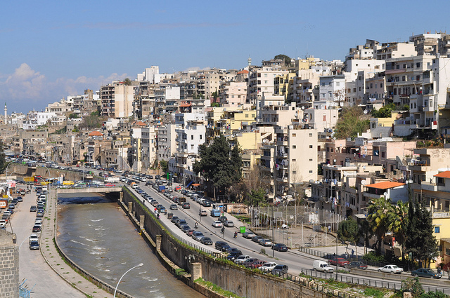 Most waste water is still discharged untreated in Lebanon (photo CC-Cazz)
