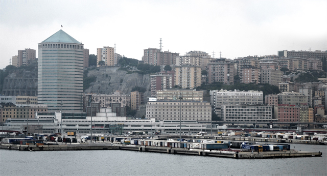 Genoa is a key player in the Ro-Ro traffic between Italy and the Maghreb (photo F.Dubessy)