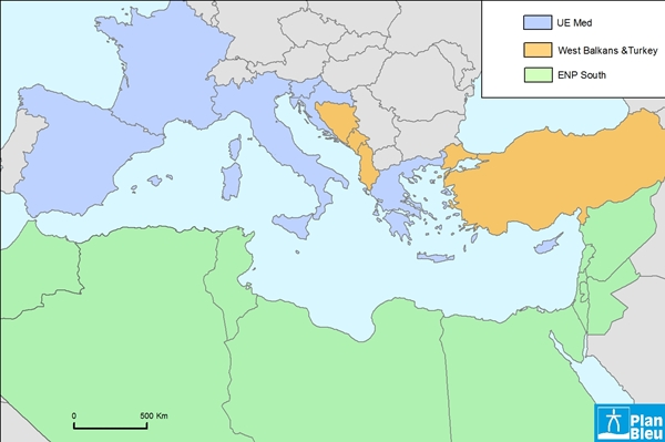 SEIS covers Europe and its neighbouring countries including the Southern Mediterranean )(doc PB DR)