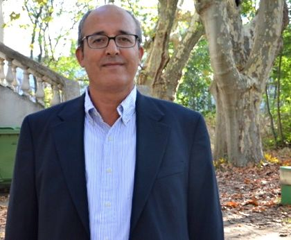 "Mohamed Chaffai, Professor at the faculty of Economics and Management at Sfax University in Tunisia, is co-author of a study on the manufacturing sector in Egypt: ""What role does technology play in a company's capacity to export?"". (Photo N.B.C)"