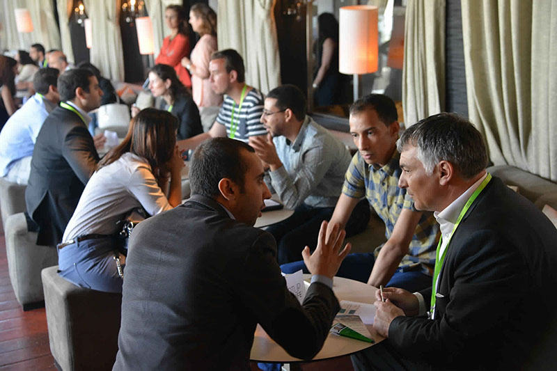 In June, 2015, the Moroccan Start-up Your Life association organized the event Level Up Morocco where of young people Moroccan start-upers met mentors of the Arab world. (photo: SYL)