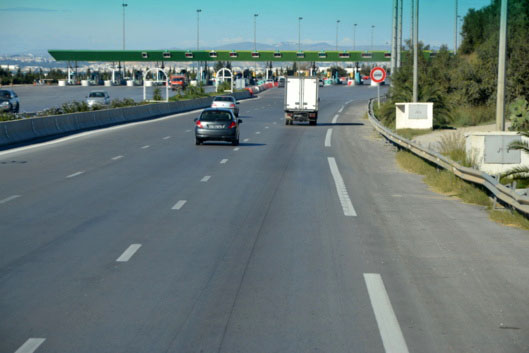 The A1 motorway between Tunis and Sfax. Photo FD