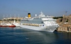 Greek, Italian and Spanish ports are the favourite playing fields of the cruise lines