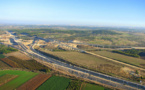 A high speed rail connection for new ports at Ashdod and Eilat