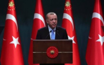 Recep Tayyip Erdogan wants to soften his relations with France and the European Union