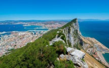 Gibraltar, the Mediterranean sand grain rock of Brexit