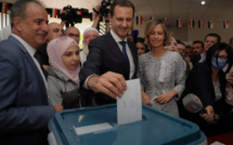 Bashar al-Assad elected for a fourth term with 95% of the vote
